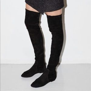 Isabel Marant Stretch Suede Boot. Size 39